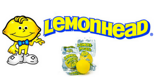 Lemonhead Retro Candy