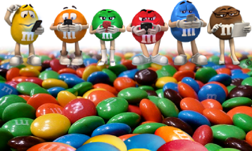M&M's Chocolate Candy-Top 30 Candies of All Time