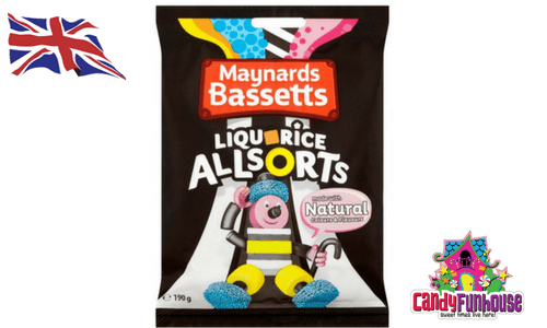 Maynards Bassetts Liquorice Allsorts British Candy