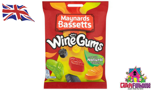 Maynards Bassetts Wine Gums British Candy