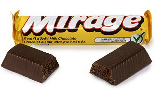 Mirage Top 20 Canadian Chocolate Candy Bar