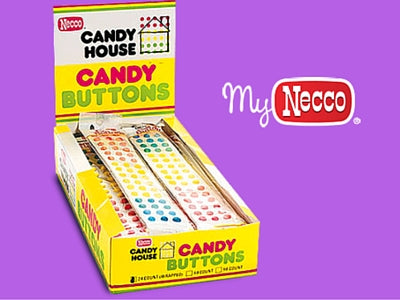 Necco Candy Buttons Retro Candy