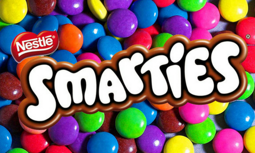 Nestle Smarties Candy-Top 30 Candies of All Time