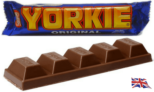 Nestle Yorkie Bar-Top 10 British Chocolate Bars