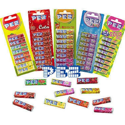 PEZ Candy Rolls Refills Assorted Flavours