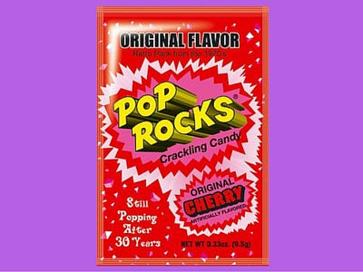 Pop Rocks Original Cherry Retro Candy