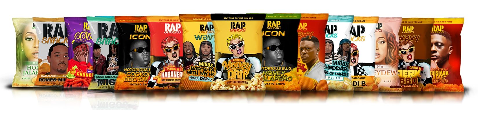 Rap Snacks Potato Chips-Candy Funhouse Online Candy Store