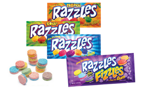 Razzles Candy-Top 30 Candies of All Times