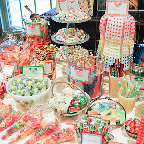 Retro Candy Buffet for Christmas-Bulk Candy-CandyFunhouse.ca
