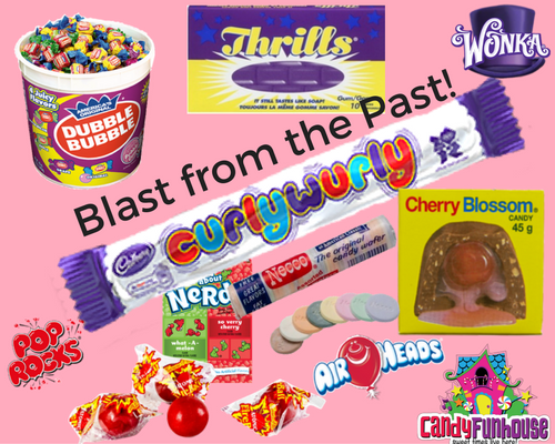 Retro Candy Christmas Stocking Stuffers-CandyFunhouse,ca-Santa's Online Candy Store