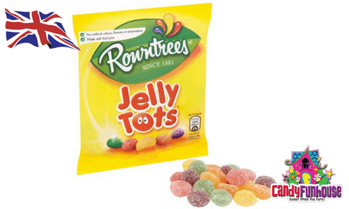 Rowntrees Jelly Tots British Candy