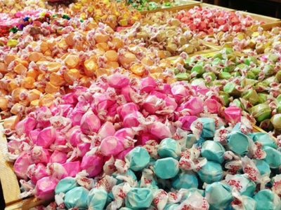 Salt Water Taffy for a Candy Buffet