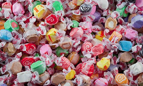 Salt Water Taffy-Top 30 Candies of All Time