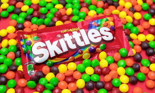 Skittles Candy-Top 30 Candies of All Time