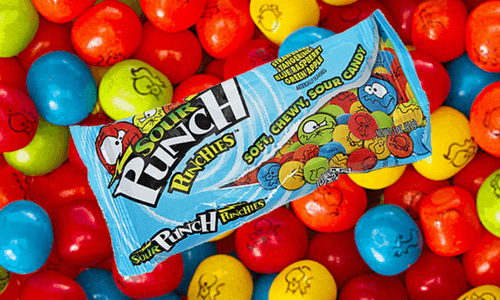 Sour Punch Punchies Top 10 Most Sour Candy