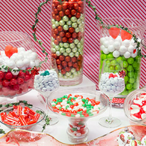 Sweet Christmas Candy Buffet-Bulk Candy-CandyFunhouse.ca