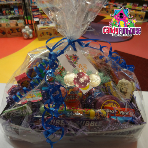 Candy Gift Basket-Retro Candy