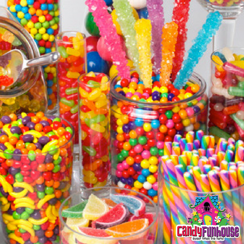 Top 10 Christmas Gift Ideas from CandyFunhouse,ca-Christmas Candy Buffet