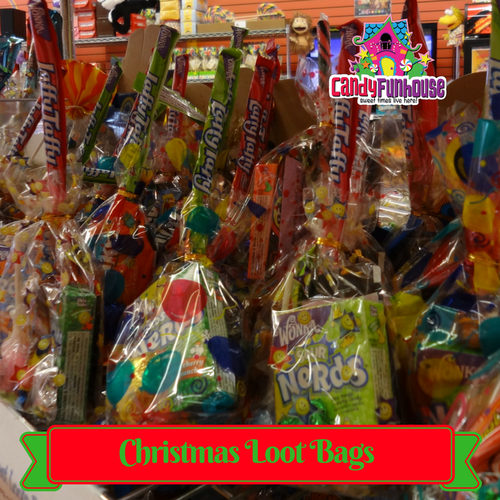 Top 10 Christmas Gift Ideas from CandyFunhouse.ca-Christmas Loot Bags