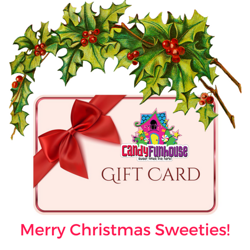 Top 10 Christmas Gift Ideas from CandyFunhouse.ca-Gift Card