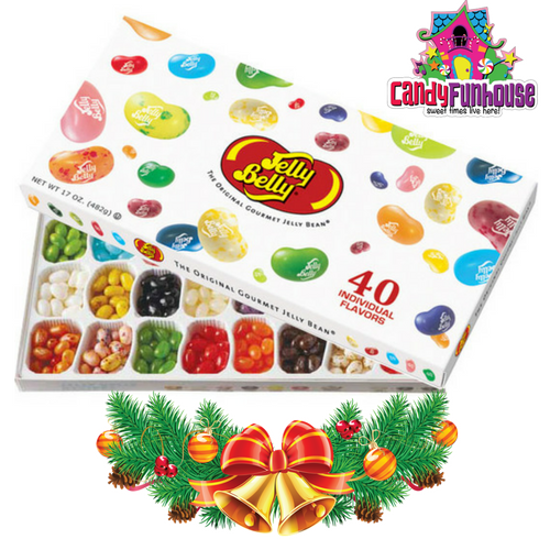 Top 10 Christmas Gift Ideas from CandyFunhouse.ca-Jelly Belly Gift Box