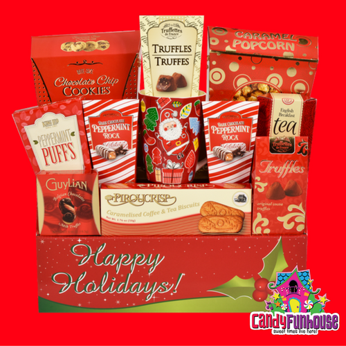 Candy Gift Baskets for Christmas-CandyFunhouse.ca Online Candy Store