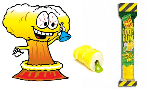 Toxic Waste Goop Gum Top 10 Most Sour Candy