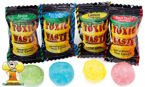 Toxic Waste Hazardously Sour Candy-Top 10 Most Sour Candy