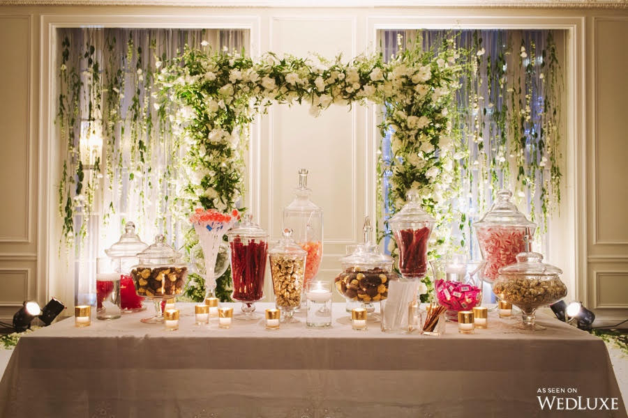 Candy Themed Wedding