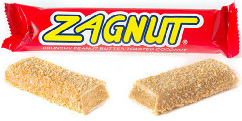 Zagnut American Candy Bar