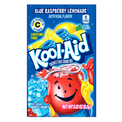Kool-Aid Blue Raspberry Lemonade Drink Mix Packet