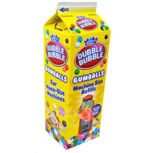 Dubble Bubble Gumballs Refills Concord Confections Ltd 500g - Bubble Gum Canadian Canadian Candy Colour_Assorted Dubble Bubble Gum