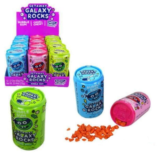 Getaway Galaxy Rocks Kidsmainia 70g - 2010s Bubble Gum bubblegum Era_2010s Gum