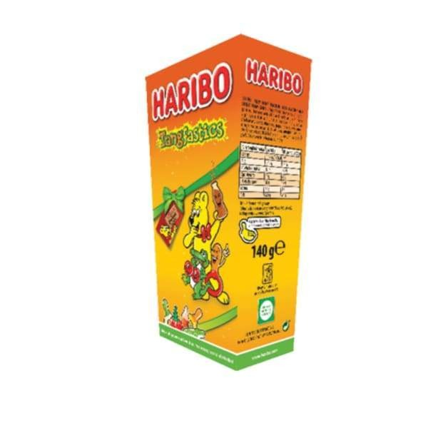 Haribo Tangfastics Carton 140g Haribo 160g - British Christmas Candy Colour_Assorted Gummy Haribo