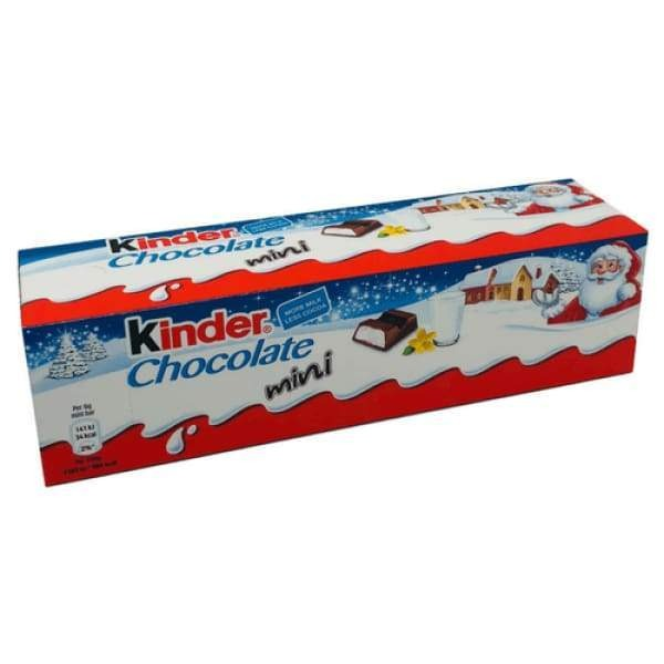 Kinder Chocolate Mini Christmas Ferrero 120g - Christmas Candy Christmas Gift Ideas Christmas Stocking Stuffers