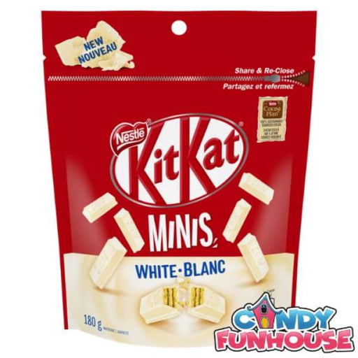 Kit Kat White Minis Nestlé 200g - 2010s Canadian Bar Colour_White Era_2010s Kit Kat