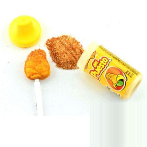 Lorena Del Puesto-Mango Lorena 200g - Colour_Yellow hot lollipop Lollipops Mexican