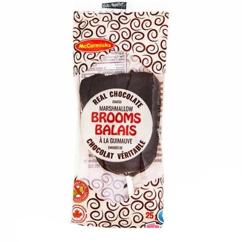 McCormicks Chocolate Marshmallow Brooms Canadian Candy