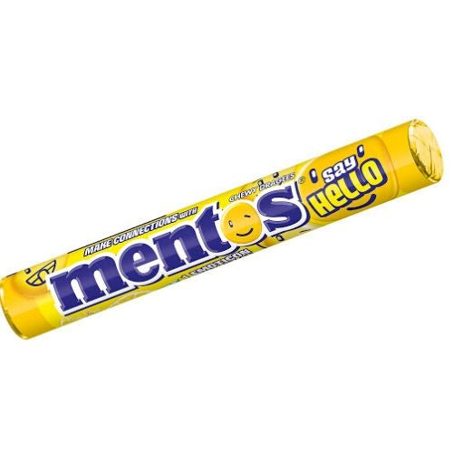 Mentos Say Hello Lemonade Chewy Candy