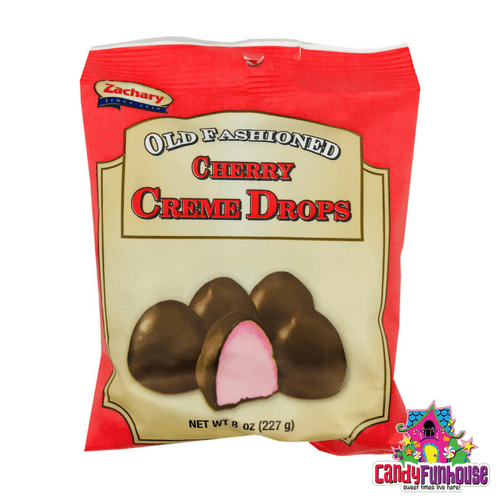 Old Fashioned Cherry Creme Drops Christmas Candy