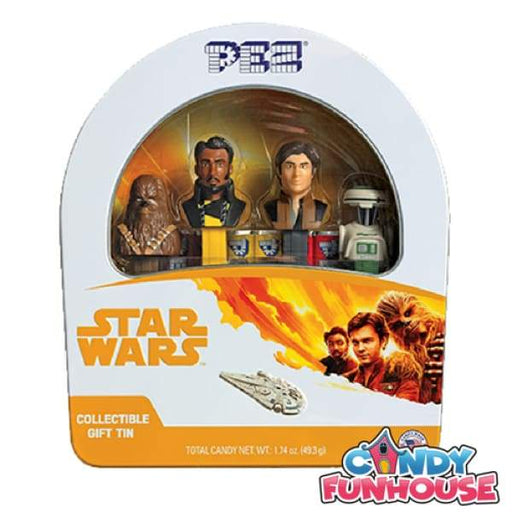 PEZ Collections-Star Wars Tin Gift Set Pez 0.25kg - collectible Gluten Free new item Novelty peanut-free