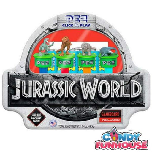 PEZ Jurassic World Click and Play Gift Tin Pez 0.25kg - 2000s 2010s collectible Era_2000s Era_2010s