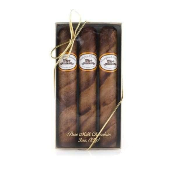 Royale Cigars Gift Box Thompson Chocolate 200g - All Natural American Chocolate Edit fine chocolate