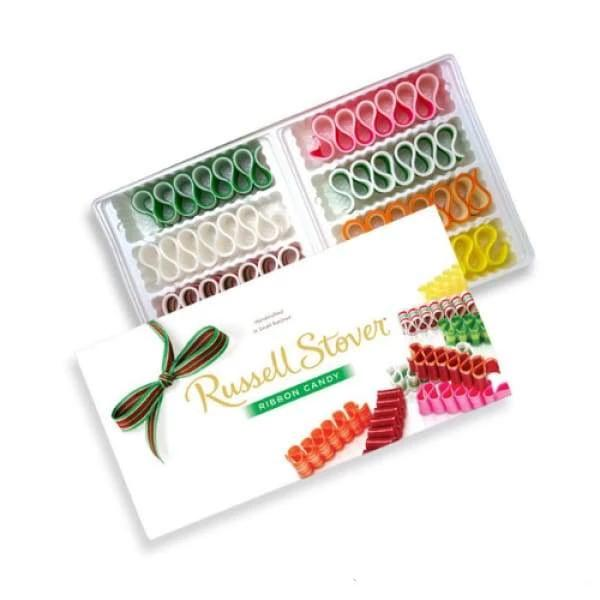 Russell Stover Ribbon Candy Russell Stover 0.4kg - Christmas Candy Colour_Assorted hard candy Type_Hard Candy