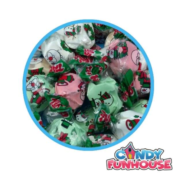 Salt Water Taffy - Christmas Taffy Town - Bulk Candy Buffet Christmas Candy Colour_Assorted Gluten Free