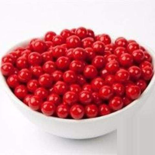 Sixlets Red SweetWorks 1kg - Bulk Candy Buffet Chocolate Colour_Red red