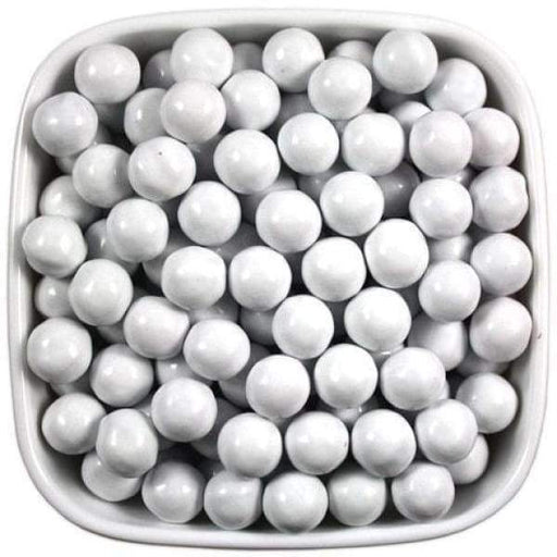 Sixlets White SweetWorks 1kg - Bulk Candy Buffet Chocolate Colour_White Sixlets