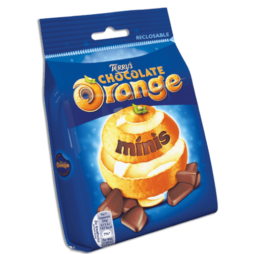 Terry's Chocolate Orange Minis-UK-British Candy