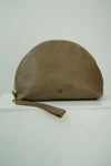 Halo Clutch in taupe