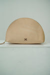 Halo Clutch in beige